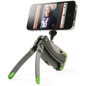 The Multitool with an iPhone Tripod Built In