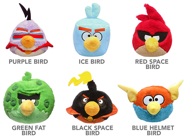 Angry Birds Space Plush Sound02