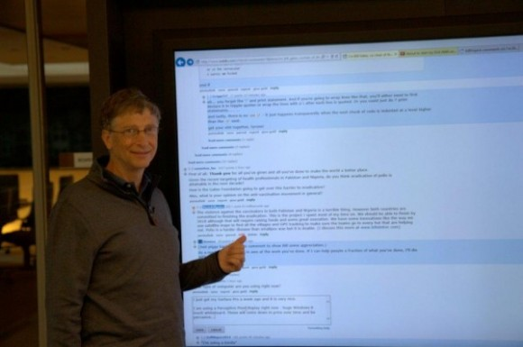 Bill Gates Perceptive Pixel - o hai